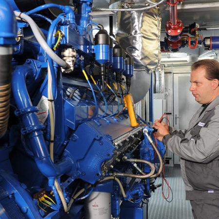 Оператор газопоршневой установки